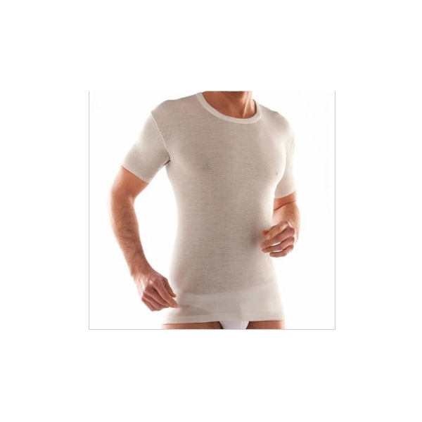 2 Maglie mezza manica 80% lana Liabel art. 5148/43