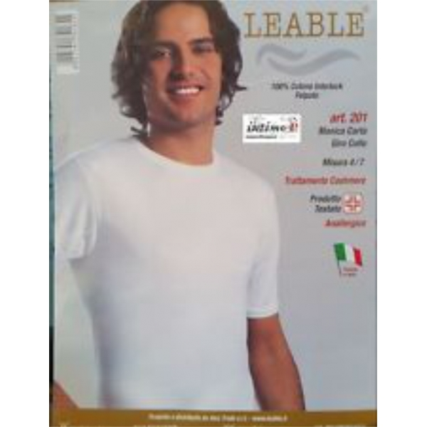 3 maglie Uomo Giro collo manica corta Interlook Leable art. 201
